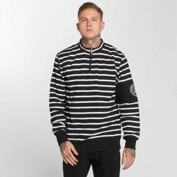 UNFAIR ATHLETICS Pullover Yarndye Striped schwarz