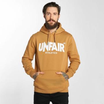 UNFAIR ATHLETICS Sweat capuche Classic Label brun