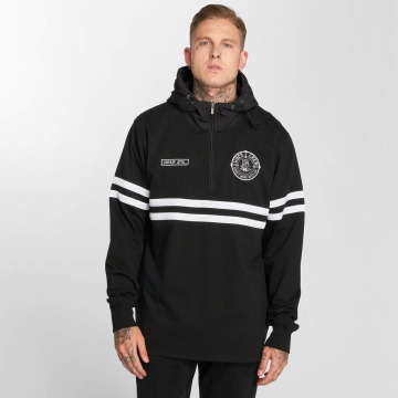 UNFAIR ATHLETICS Sweat capuche zippé DMWU Halfzip noir