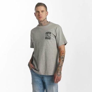 UNFAIR ATHLETICS t-shirt Unfair Brigade grijs