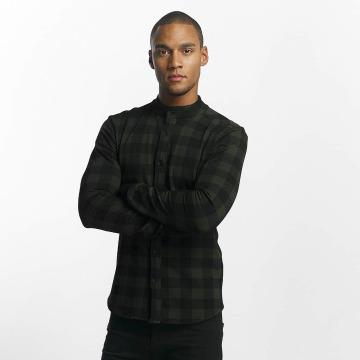 Uniplay Košile Checkered hnědožlutý