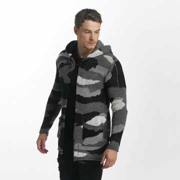 Uniplay Strickjacke Vest schwarz