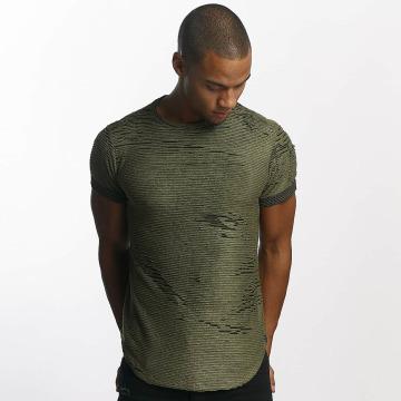 Uniplay T-paidat Diced khakiruskea