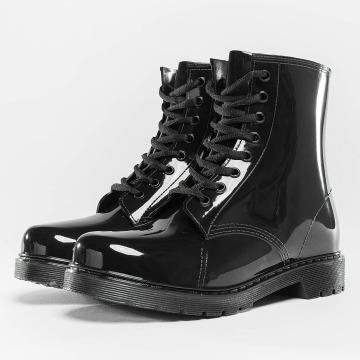 Urban Classics Čižmy/Boots Laced Rain èierna