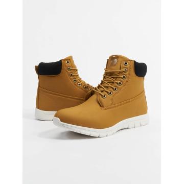 Urban Classics Čižmy/Boots Runner hnedá