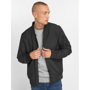 Urban Classics Демисезонная куртка Light Bomber черный