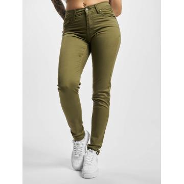 Urban Classics Облегающие джинсы Ladies оливковый