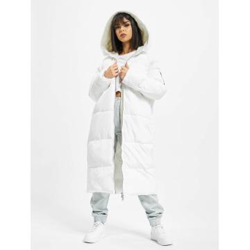 Urban Classics Пальто Oversized Hooded Puffer белый