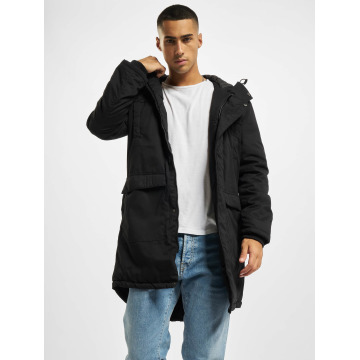 Urban Classics Пальто Cotton Peached Canvas черный