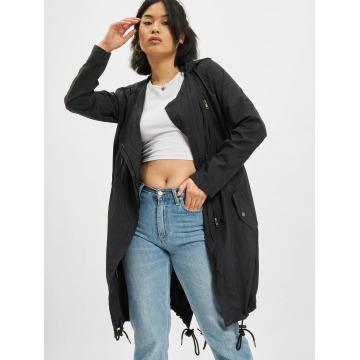 Urban Classics Пальто Asymetric черный