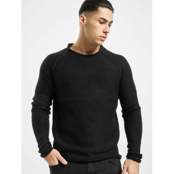 Urban Classics Пуловер Raglan Wideneck черный
