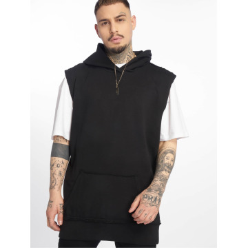 Urban Classics Толстовка Open Edge Sleeveless черный