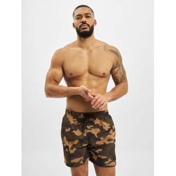 Urban Classics Badebukser Camo Swim camouflage