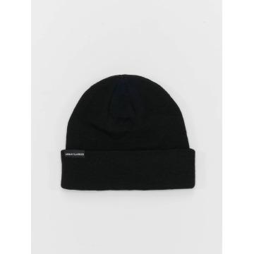 Urban Classics Beanie Basic Flap zwart
