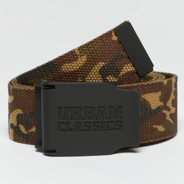 Urban Classics Belt Woven Rubbered Touch camouflage