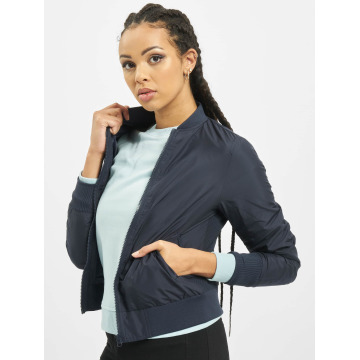 Urban Classics Bomber jacket Ladies Light blue