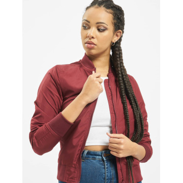 Urban Classics Bomber jacket Light red