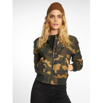 Urban Classics Bomberjack Ladies Light Camo camouflage