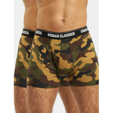 Urban Classics Boxer Short 2-Pack Camo camouflage