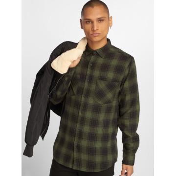 Urban Classics Camicia Checked Flanell 3 nero