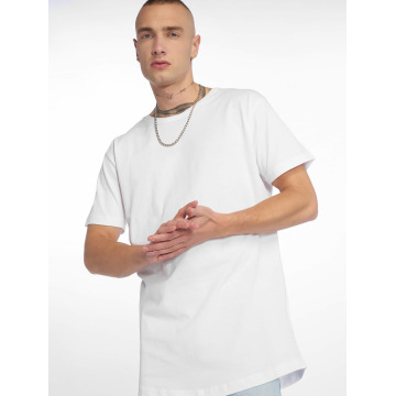 Urban Classics Camiseta Shaped Long blanco