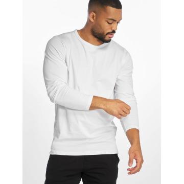 Urban Classics Camiseta de manga larga Fitted Stretch blanco