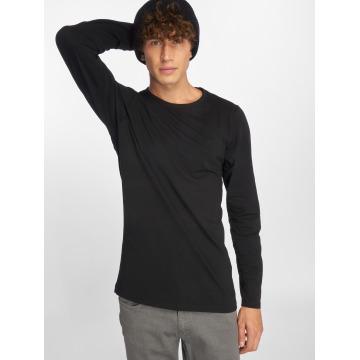 Urban Classics Camiseta de manga larga Fitted Stretch negro
