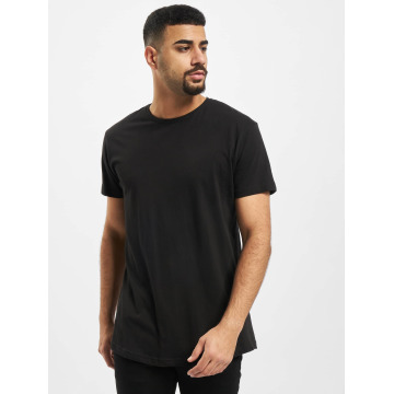 Urban Classics Camiseta Shaped Long negro