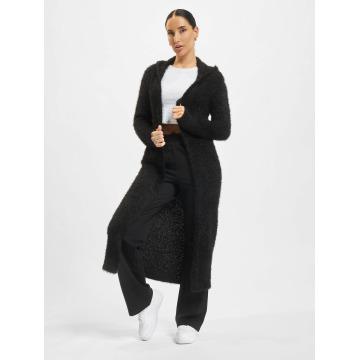 Urban Classics Cardigan Hooded Feather black