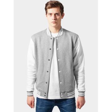 Urban Classics Chaqueta de béisbol 2-Tone College Sweatjacket gris