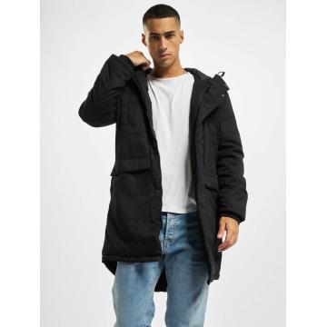 Urban Classics Coats Cotton Peached Canvas black