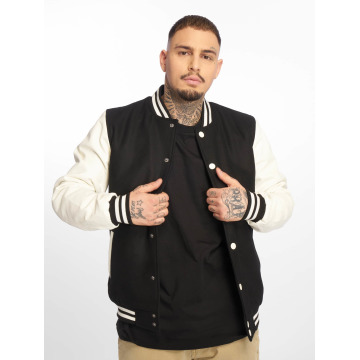 Urban Classics College Jacket Oldschool black
