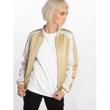 Urban Classics College Jacket 3 Tone Souvenir gold colored