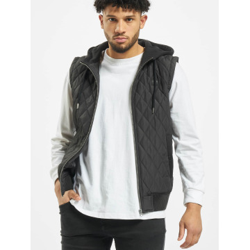 Urban Classics Gilet Diamond Quilted nero