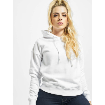 Urban Classics Hoody Ladies wit