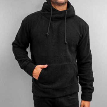Urban Classics Hoody Sherpa High Neck zwart