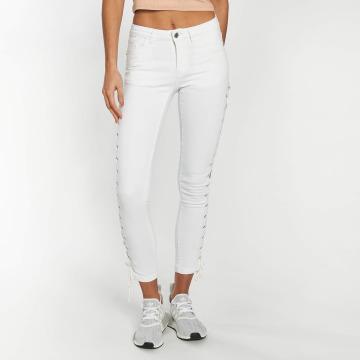 Urban Classics Jean skinny Lace Up Denim blanc