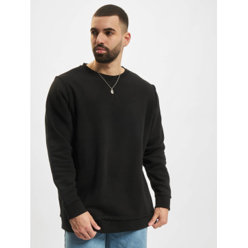 Urban Classics Jumper Oversized Open Edge black