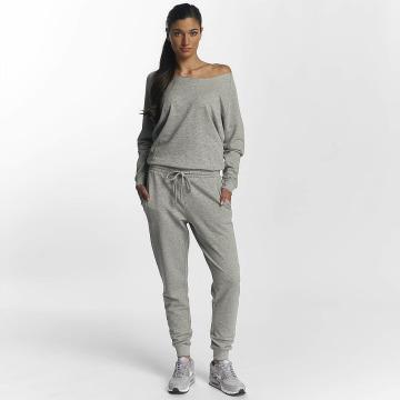 Urban Classics jumpsuit Terry grijs