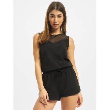 Urban Classics jumpsuit Tech Hot zwart