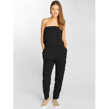 Urban Classics jumpsuit Viscose Bandeau zwart