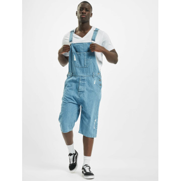 Urban Classics Jumpsuits Denim Dungarees blue