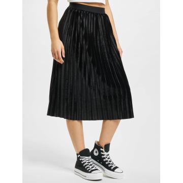 Urban Classics Jupe Velvet Plisse noir