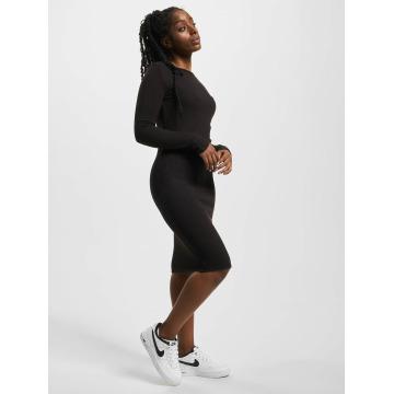 Urban Classics jurk Rib zwart