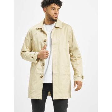 Urban Classics Kabáty Gabardine béžová