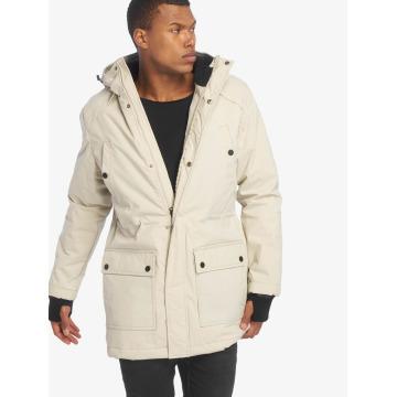 Urban Classics Kabáty Hooded Heavy Thumbhole béžová