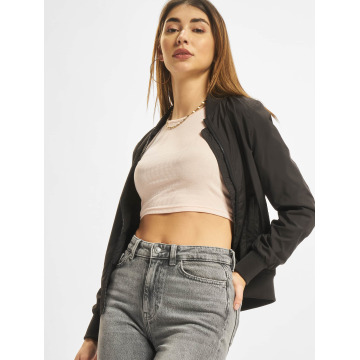 Urban Classics Kurtka pilotka Ladies Light Bomber czarny