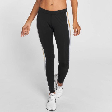 Urban Classics Legging Side Stripe zwart