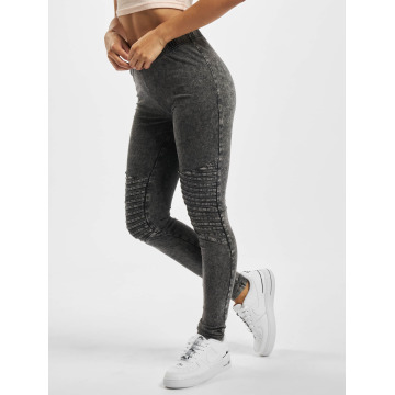 Urban Classics Leggings Denim Jersey grå