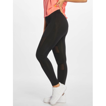Urban Classics Leggings Ladies Tech Mesh nero
